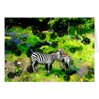 More Zebras Card