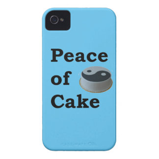 More Zen Anything Sayings - Peace Of Cake iPhone 4 Cover