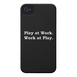 More Zen Anything Sayings - Play at Work Case-Mate iPhone 4 Case