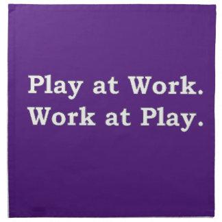 More Zen Anything Sayings - Play at Work Napkin