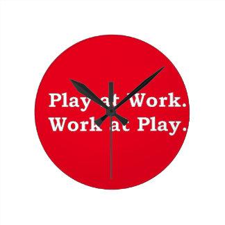 More Zen Anything Sayings - Play at Work Round Clock