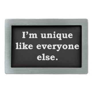 More Zen Anything Sayings - Unique Rectangular Belt Buckle