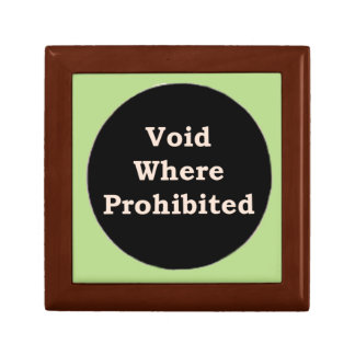 More Zen Anything Sayings - Void Where Prohibited Gift Box