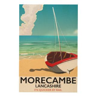 Morecambe, Lancashire Seaside travel poster