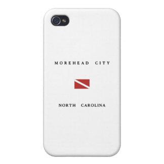 Morehead City North Carolina Scuba Dive Flag iPhone 4 Case