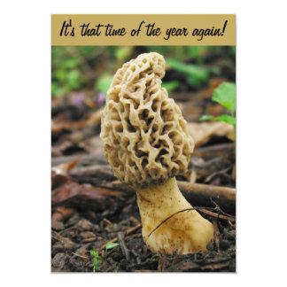 Morel Mushroom Hunting Invitation