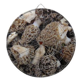 Morel Mushrooms Dartboard