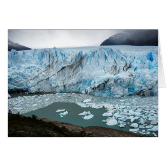 Moreno Glacier And Lake Argentino Card