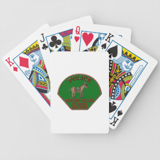 Moreno Valley Police Bicycle Playing Cards