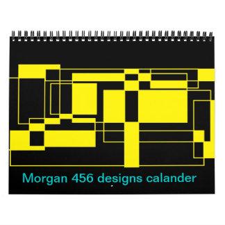 Morgan 456 designs wall calendars