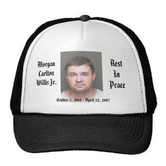 Morgan Cap-Black Hat