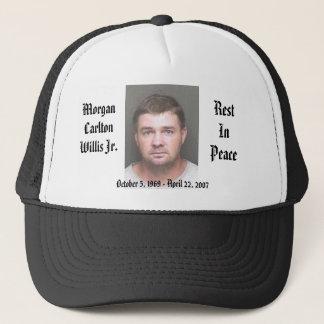 Morgan Cap-Black Trucker Hat