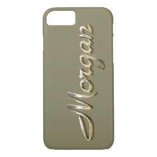 """""""Morgan"""" Custom Monogram iPhone 7 Case"""