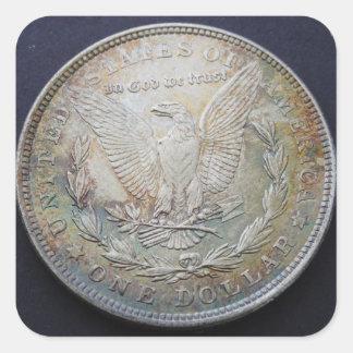 Morgan Dollar Sticker