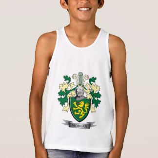 Morgan Family Crest Coat of Arms Singlet