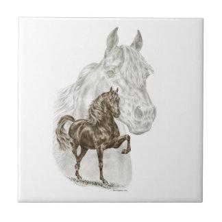 Morgan Horse Art Ceramic Tile