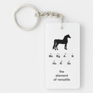 Morgan Horse Key Chain