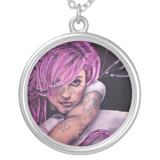 morgan le fay artwork necklace