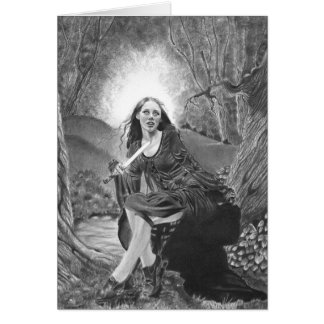 Morgan Le Fay Card