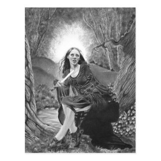 Morgan Le Fay Postcard