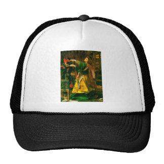Morgan Le Fay ~ Sandys 1864 Fine Art Painting Mesh Hat