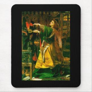 Morgan Le Fay Sandys 1864 Fine Art Painting Mousepad
