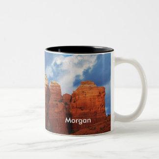 Morgan on Coffee Pot Rock Mug