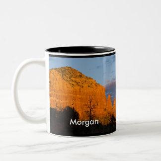 Morgan on Moonrise Glowing Red Rock Mug