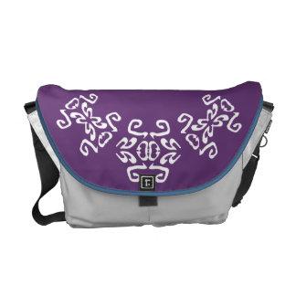 Morgan Purple & White Classy Commuter Bag