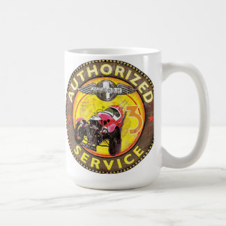 Morgan three wheeler service coffee mug