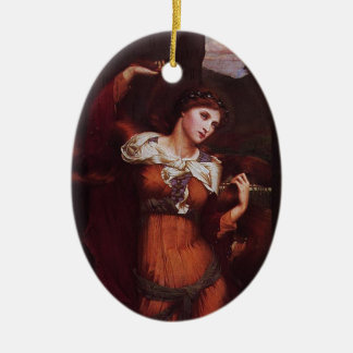 Morgana le Fay (Morgan Pendragon) Ceramic Oval Decoration