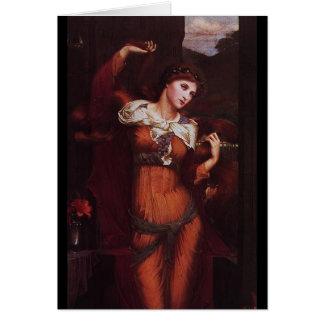 Morgana le Fay (Morgan Pendragon) Greeting Card