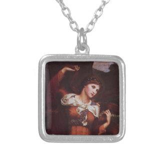 Morgana le Fay (Morgan Pendragon) Square Pendant Necklace