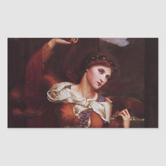 Morgana le Fay (Morgan Pendragon) Rectangular Sticker