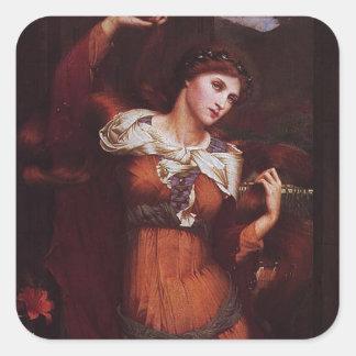 Morgana le Fay (Morgan Pendragon) Square Sticker