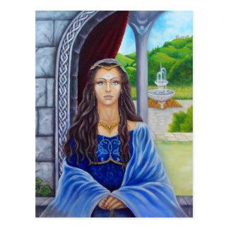Morgane, priestess of Avalon Postcard