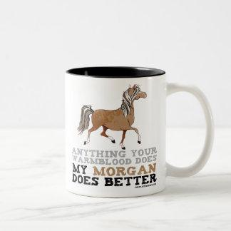 Morgans Do It Better Two-Tone Coffee Mug