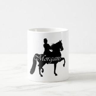 Morgans Basic White Mug