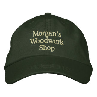 Morgan's Woodwork Shop Embroidered Hat