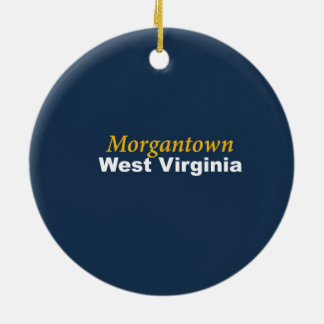 Morgantown, West Virginia Ornament