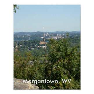 Morgantown WV Photo from Dorseys Knob Posters