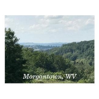 Morgantown WV Photo Mountains Postcards