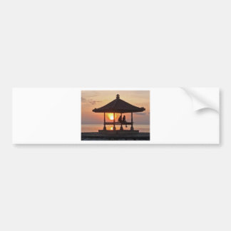 Moring in Bali Island Bumper Sticker