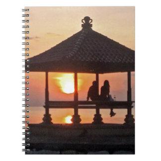 Moring in Bali Island Notebook