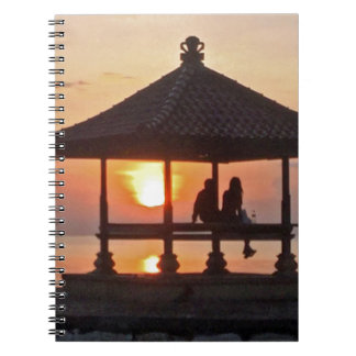 Moring in Bali Island Notebooks