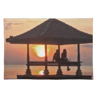 Moring in Bali Island Placemat
