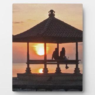 Moring in Bali Island Plaque