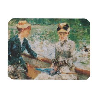 Morisot Summer s Day Rectangular Magnet