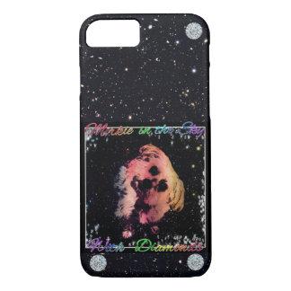 Morkie Space Diamond Dog Funny Humor iPhone Case