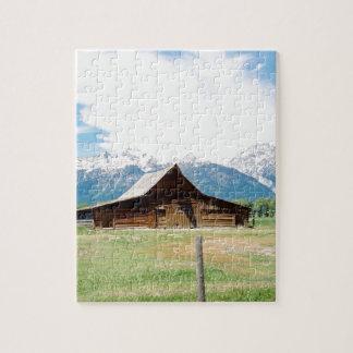 Mormon Barn Jigsaw Puzzle